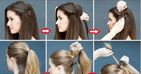 simply hairstyles  5 best simple hairstyles for lazy girls