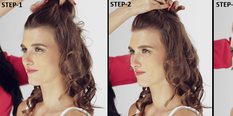How to make puff hairstyles step by step