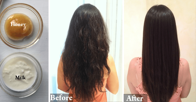 Home Remedies Straighten Hair Naturally
