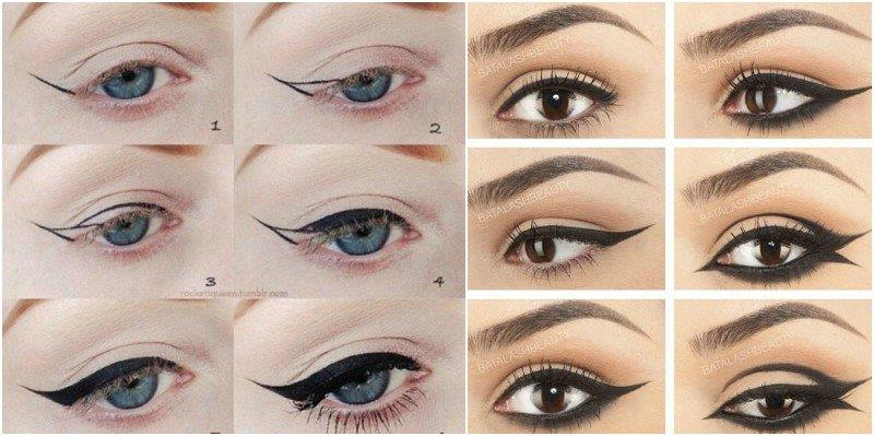 How to Do Winged Eyeliner 1