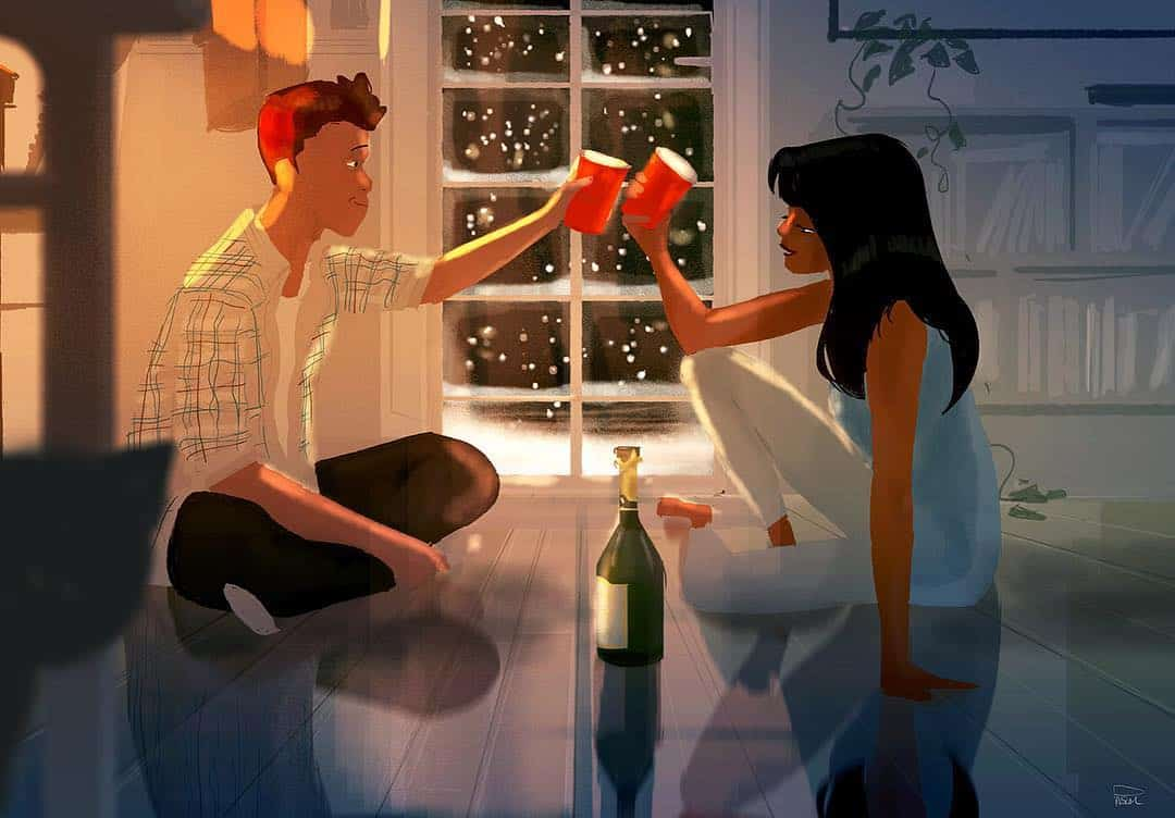 Love is Beautiful!! These comic illustrations are a proof of the beauty of intimacy. 22