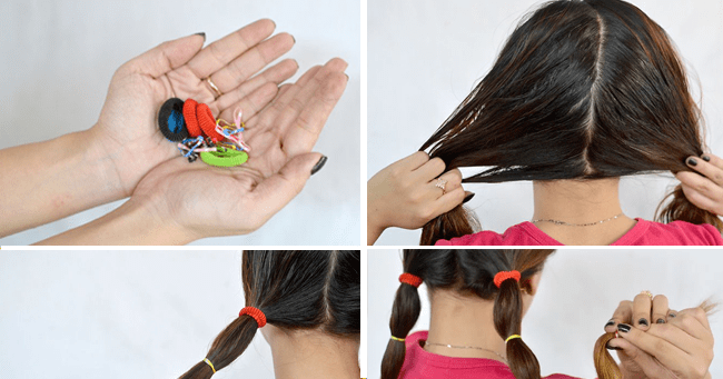 How to Straighten Your Hair With Hair Bands 10