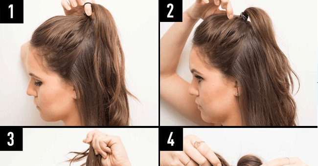 Here Are 2 Half Bun Hairstyle You Should Be Wearing Instead Blushy