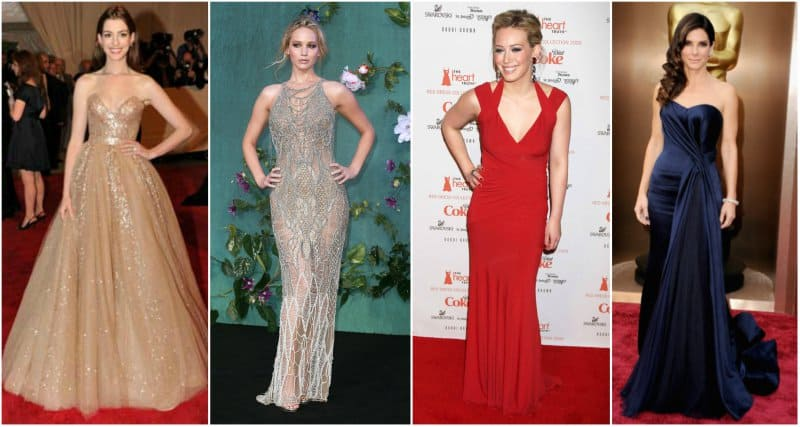 10-Best-Hairstyles-for-Evening-Gowns – Blushy Babe