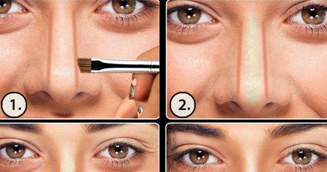 Learn How To Contour Your Nose Step by Step 2