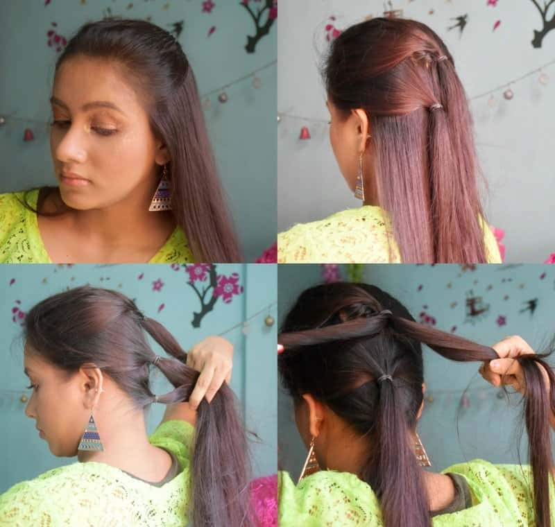 Must Watch Step- By- Step Hair Tutorial For Beautiful Voluminous Bridal Hairstyle 2