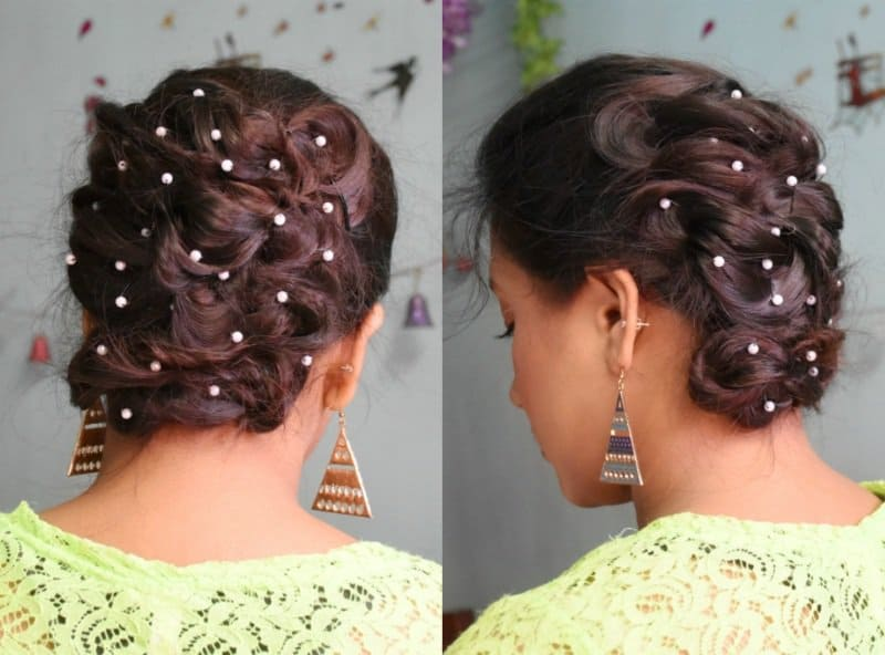 Must Watch Step- By- Step Hair Tutorial For Beautiful Voluminous Bridal Hairstyle 6