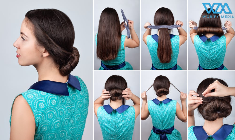 Easy Bun Hairstyles That Can Be Done In Just 5 Minutes. 63