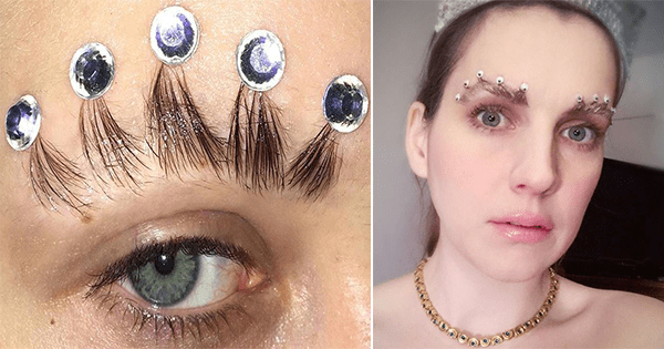 Meet the latest eyebrow trend 'Brown Crowns' 3