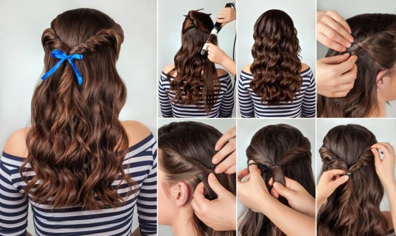 Gorgeous Hairstyles For Evening Gowns | Blushy Babe