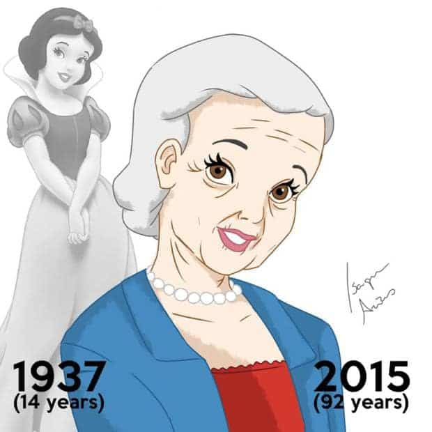 Disney Princesses Must Have Aged Since The Release of Their Movies If They Were Real. 1