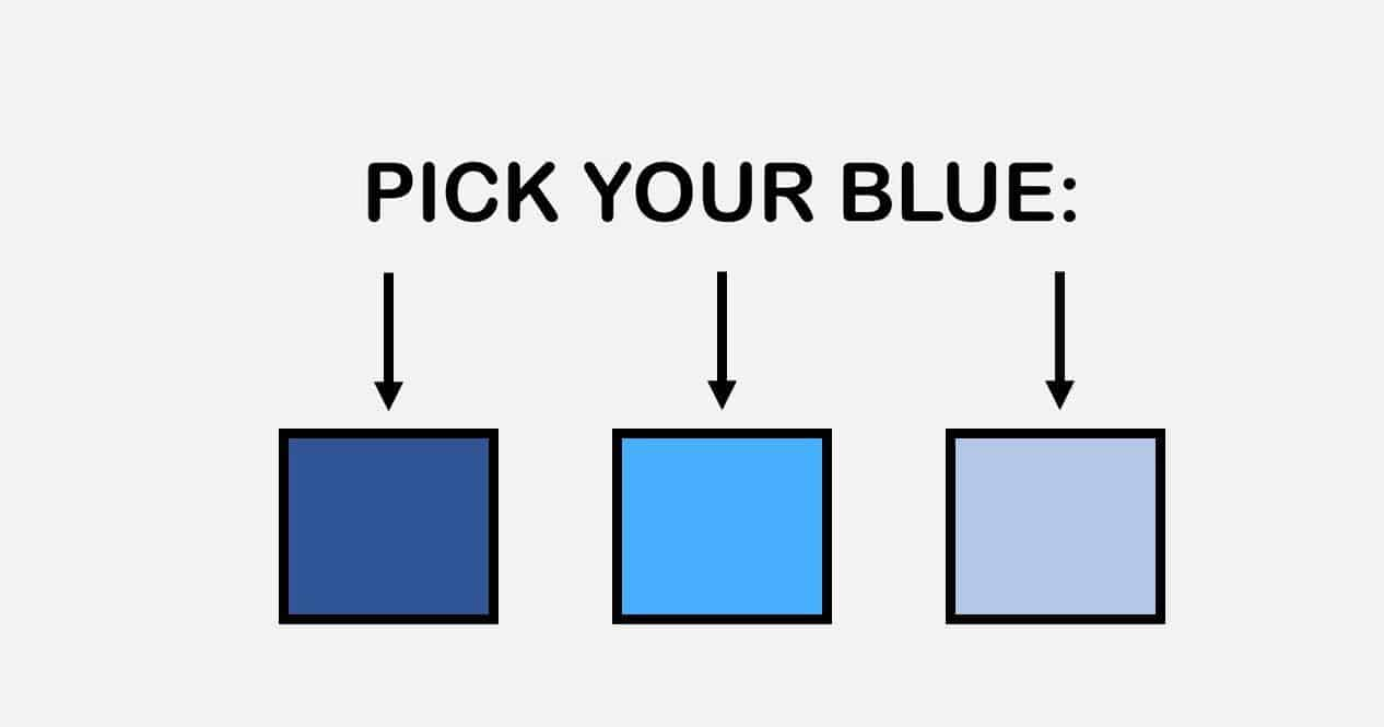 Blue colors reveal about your personality