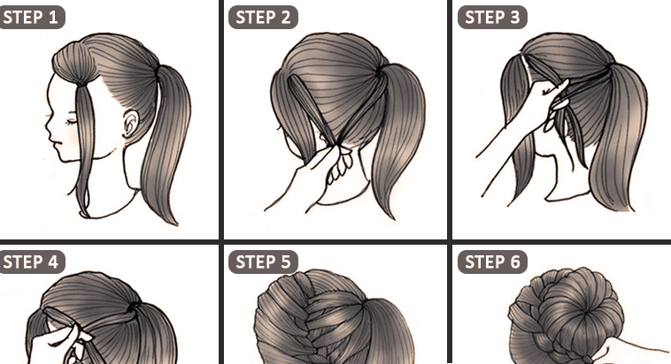 10 Quick Cute Hairstyles That Take Only 2 Minutes Of Your Time ...