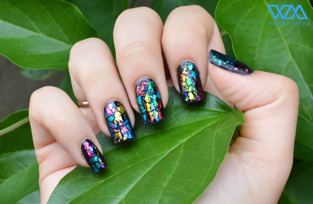 Must Try Out This Fire And Ice Nail Trend Right Now. 7