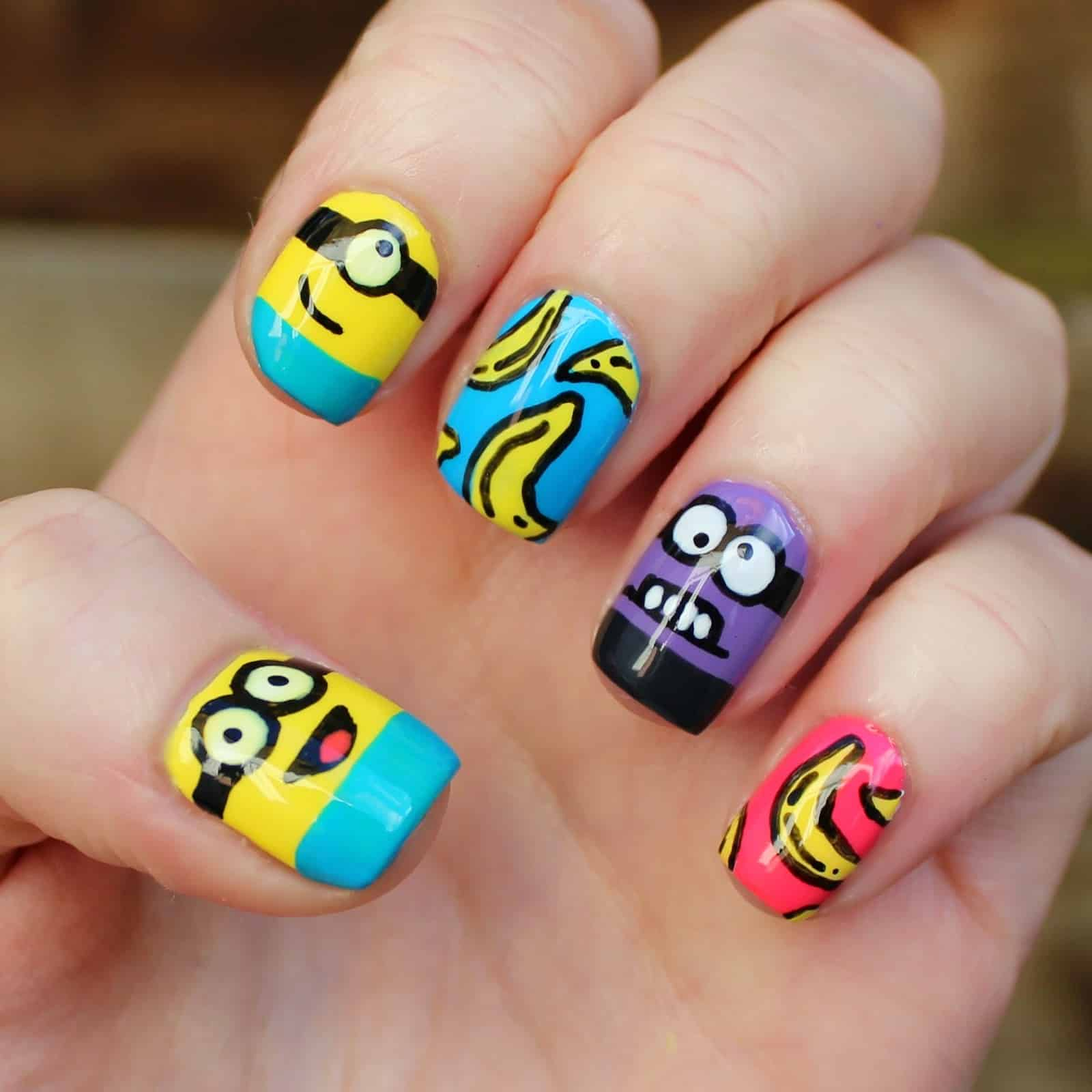 The trendy nail arts never gonna out from fashion 7