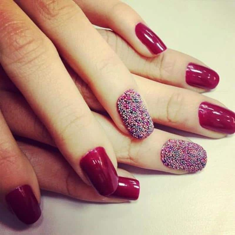 The trendy nail arts never gonna out from fashion 8