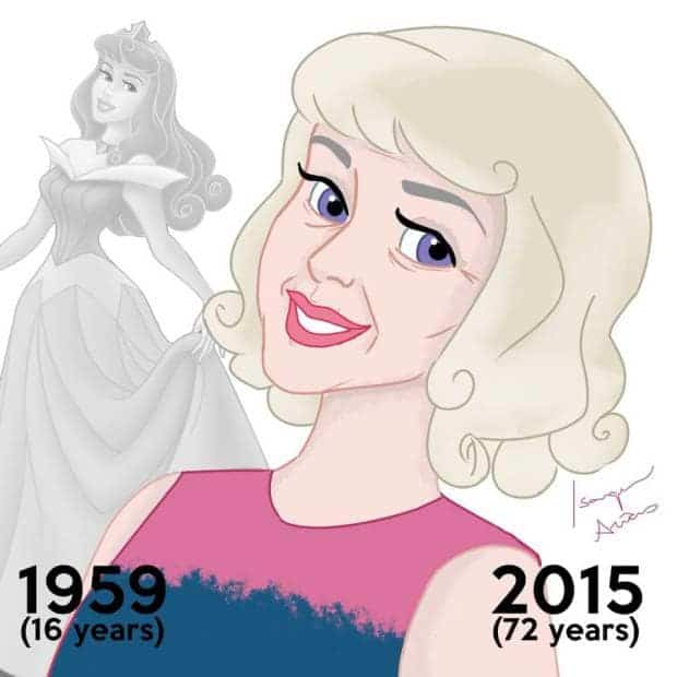 Disney Princesses Must Have Aged Since The Release of Their Movies If They Were Real. 5