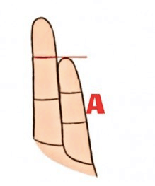 Fingers can say a lot about your personality. 3