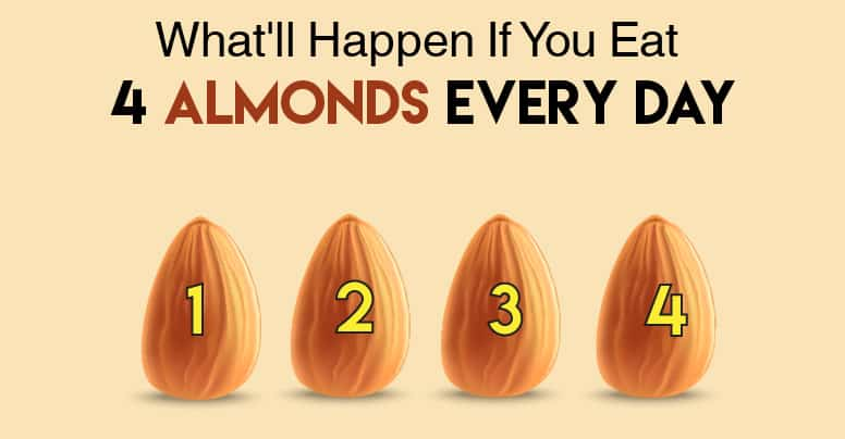 What four almonds can do for you 1