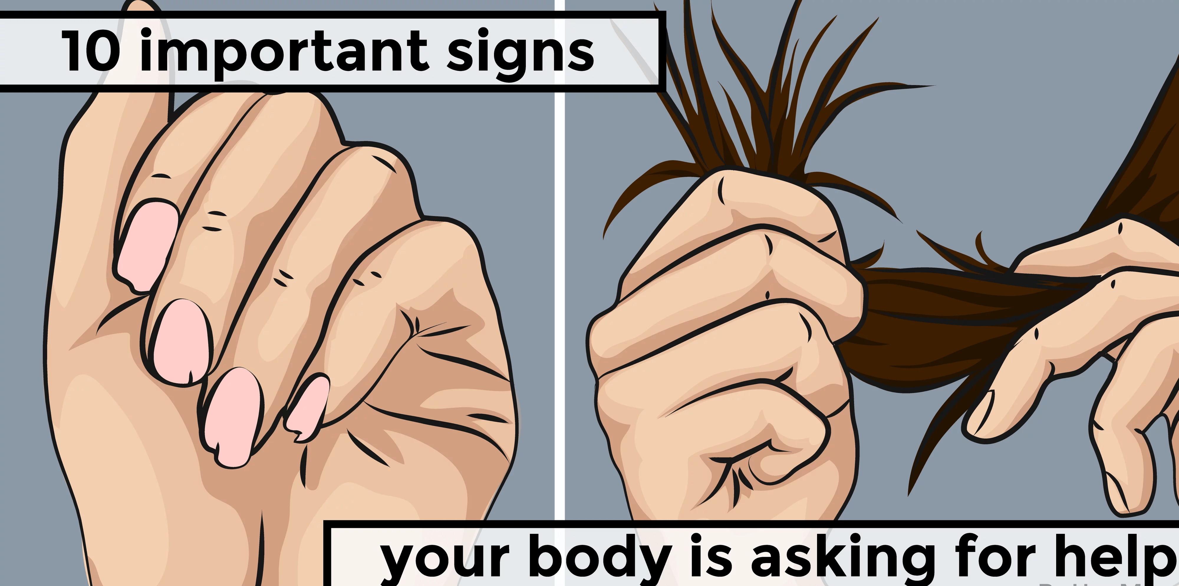 Your body is asking you for help. Don't ignore it! 1