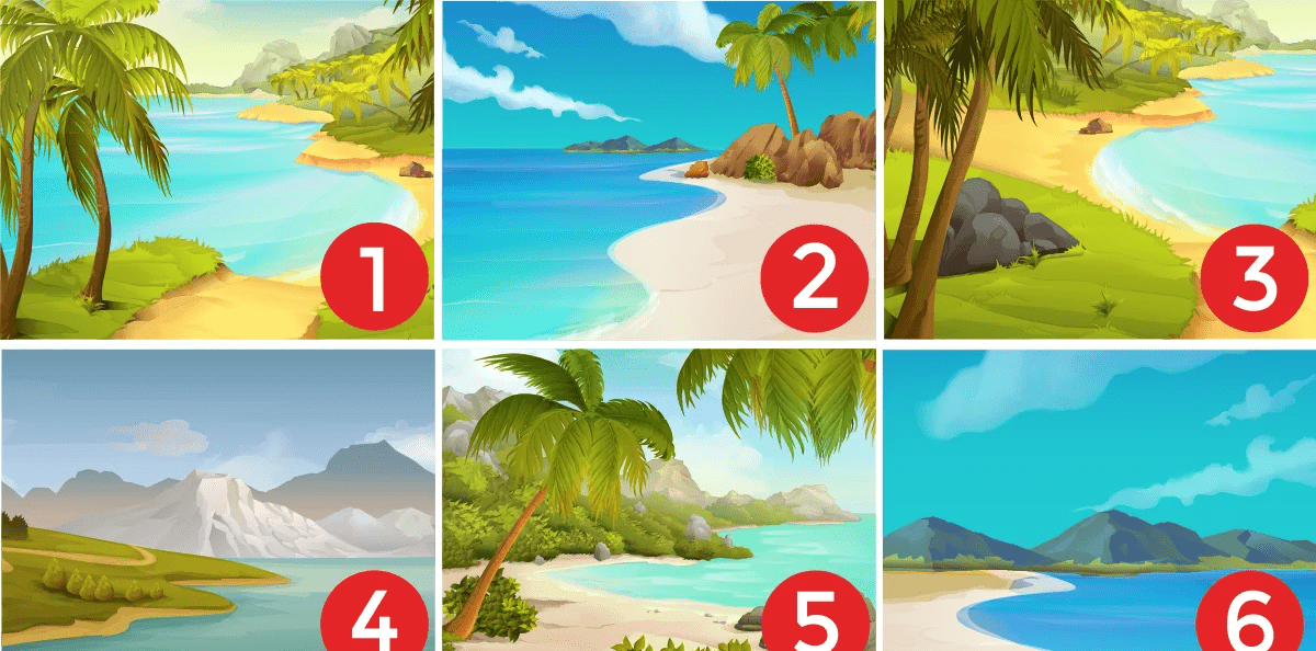 A beach could reveal your personality 2