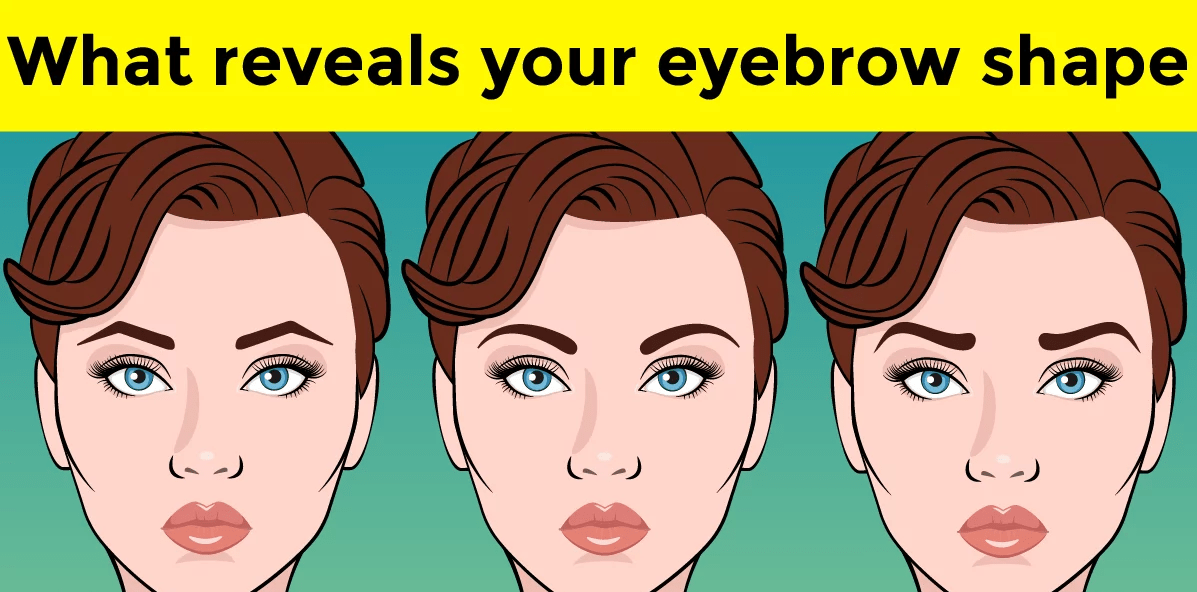 Your love life revealed through your eye-brows! 1