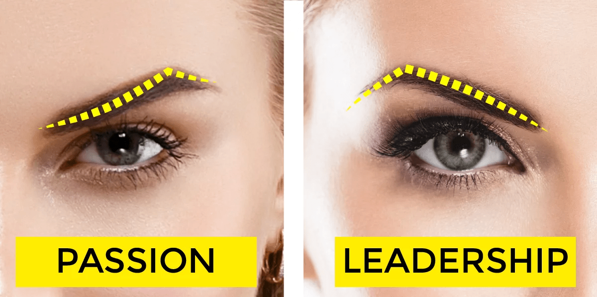 You eyebrows can reveal your personality 1