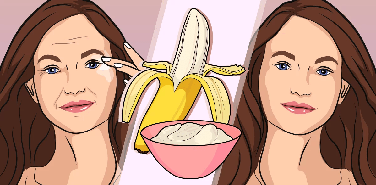 Bananas could help treat your wrinkles! 1