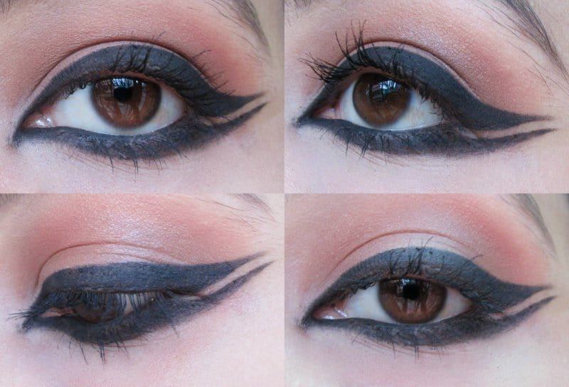 Winged Eyeliner: Step-by-step 5