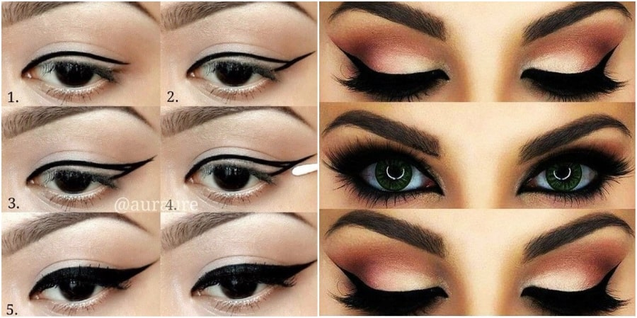 7 Steps To Eyeliner Application 1
