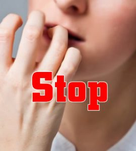 how to quit chewing your nails