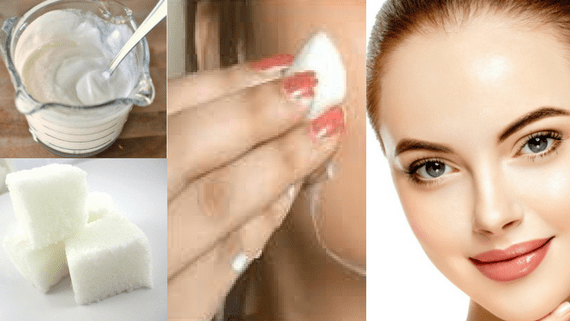 Try a milk facial at home. 1