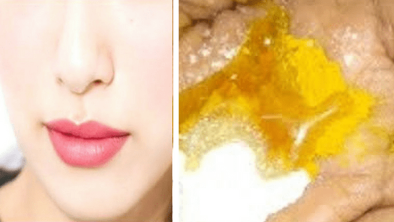 Turmeric face pack for glowing skin
