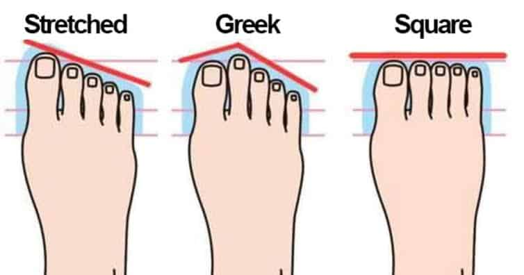 What your feet says about your personality 1