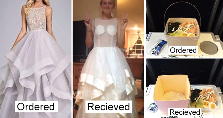 Online shopping can be a real horror  at times. 10