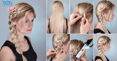 Try Cute Hairstyles To Give You Glamorous Look In 10 Minutes 8