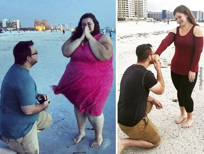 The spectacular transformation of a lady weighing 500 lbs- look at the recreational photos yourself! 4