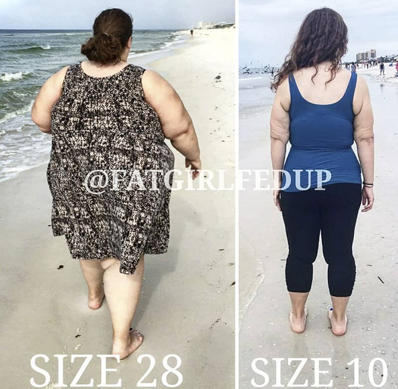 The spectacular transformation of a lady weighing 500 lbs- look at the recreational photos yourself! 9