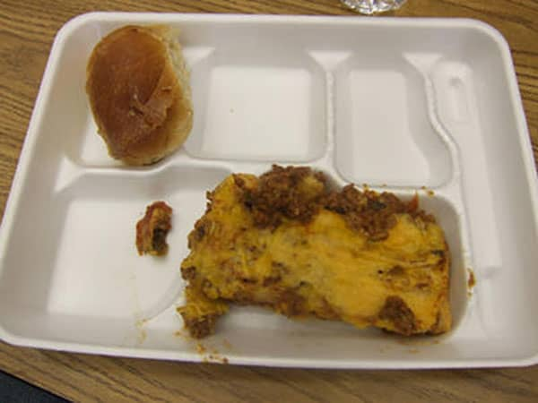 These Are Some Of The Grossest School Lunches