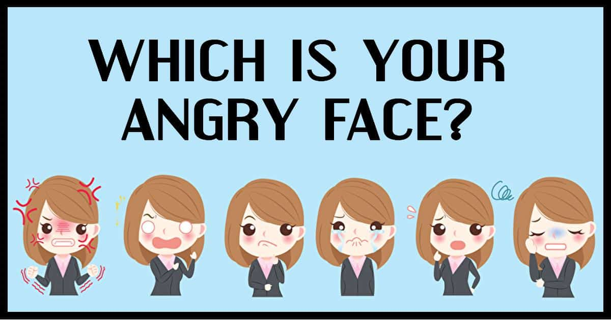Anger can reveal about your personality