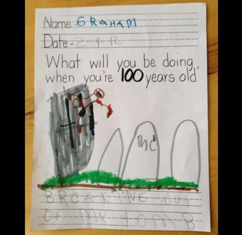 Some Drawing Of kids That Will Make You Think At Least Once Before Having Children 1