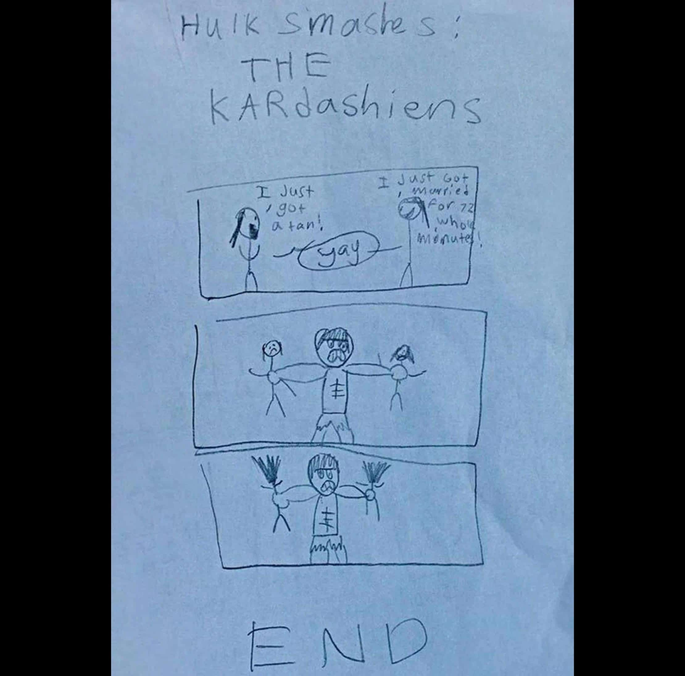 Some Drawing Of kids That Will Make You Think At Least Once Before Having Children 7