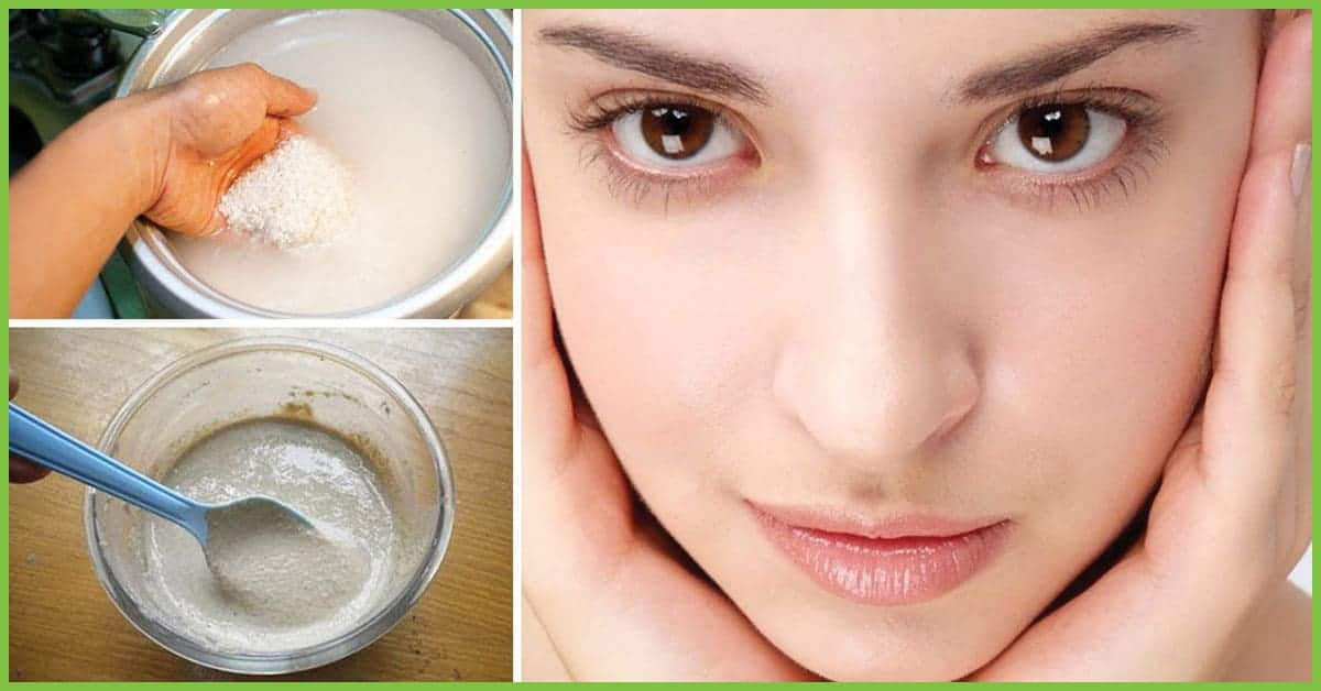 Uses Of Rice To Attain Enviable Skin 4