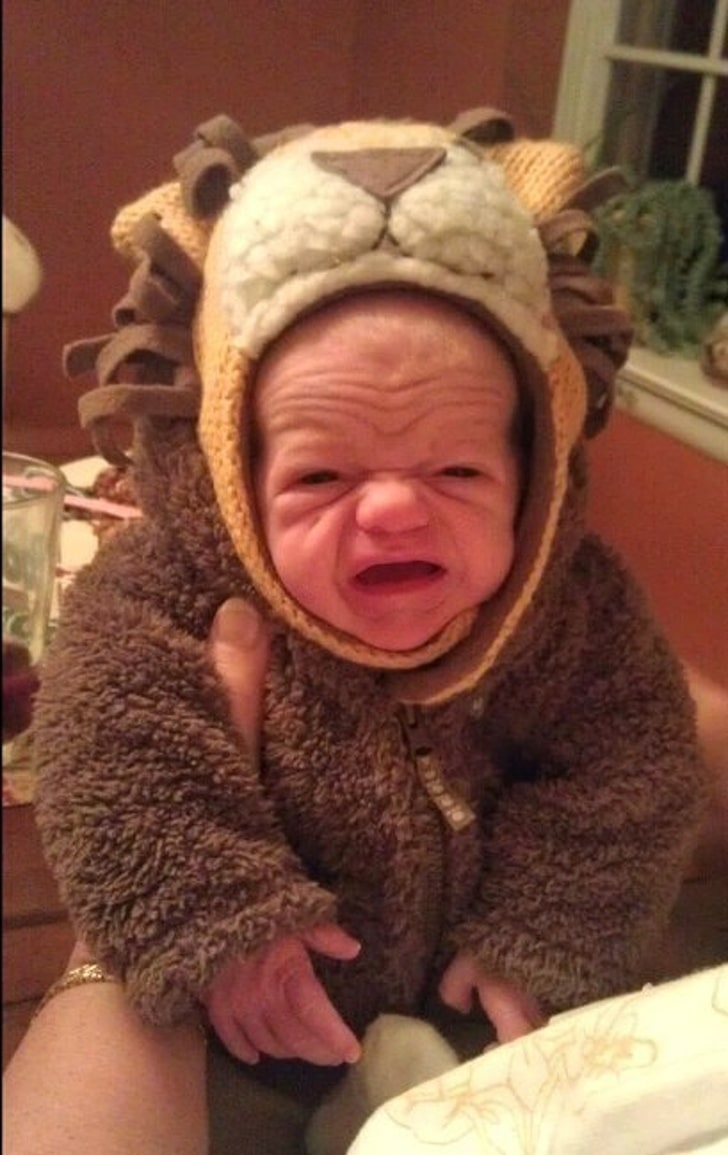 These 13 Best Babies Picture Expressions Who Might Look Older Than You 3