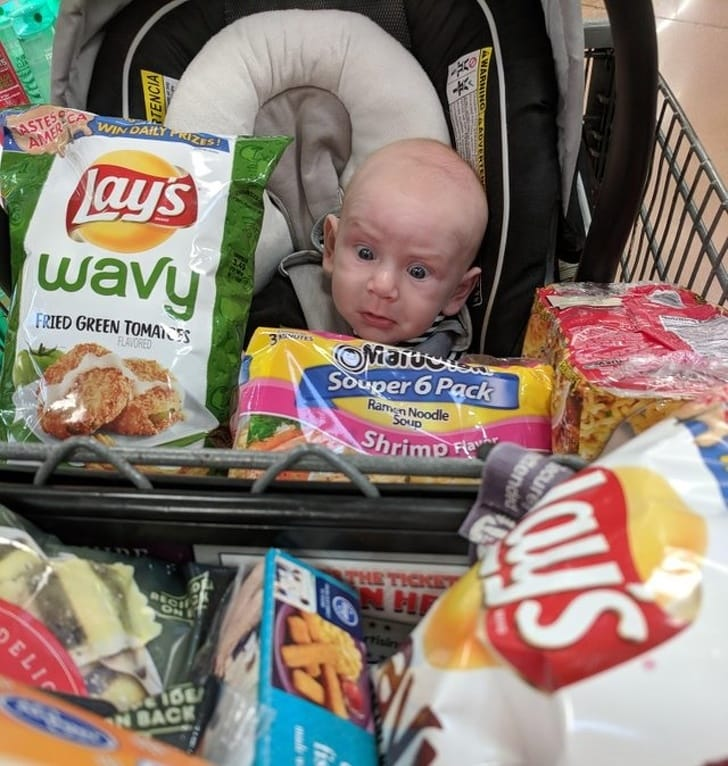 These 13 Best Babies Picture Expressions Who Might Look Older Than You 6