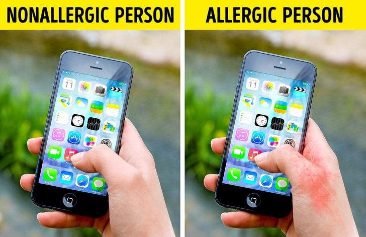 Here we are with some of the different everyday allergic things