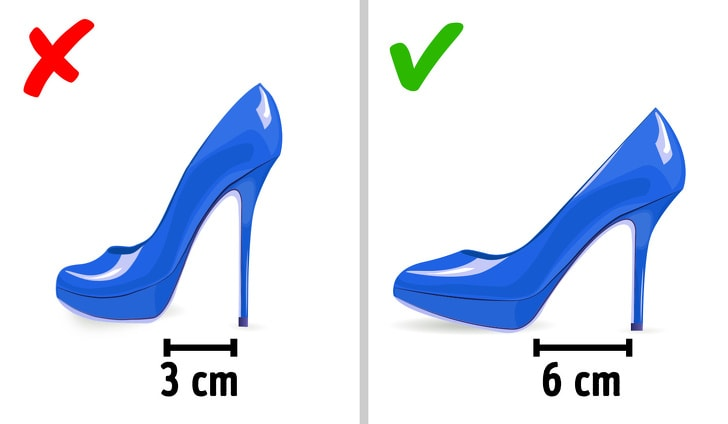 5 ways to choose the pain-free high heels