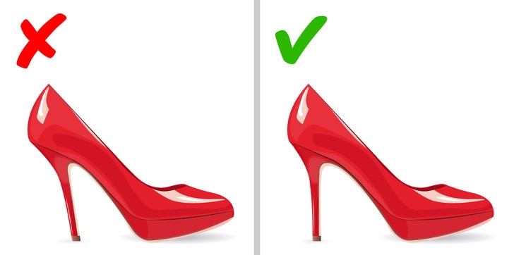 5 Essential Rules To Choose High Heels To Forget The Pain 5